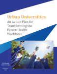 An Action Plan for Transforming the Future Health Workforce Image