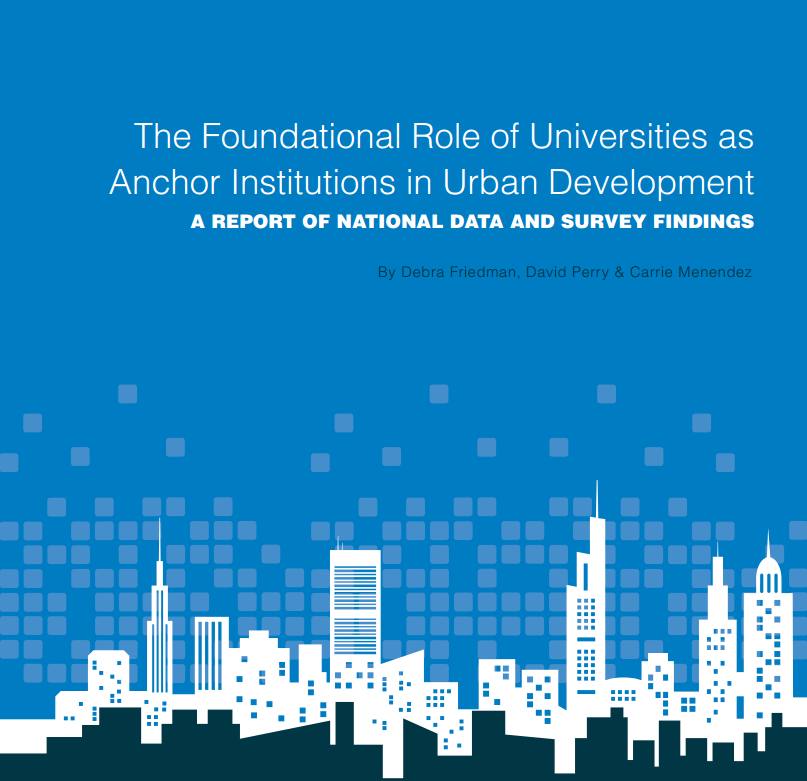 What Does It Mean To Anchor A Community Urban University